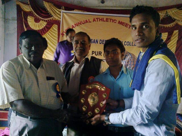 Athletic Champion T.S.D College, Session 2011-14