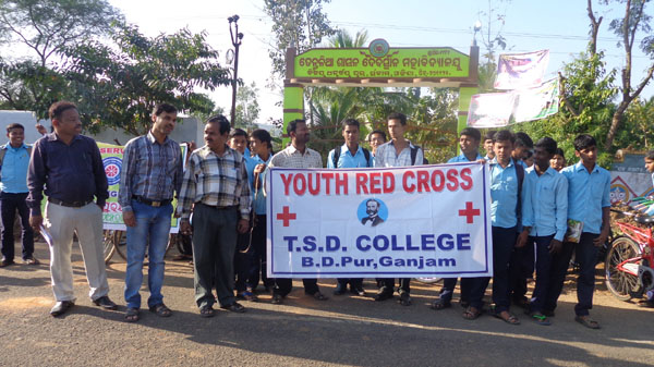 YOUTH RED CROSS OF THE COLLEGE