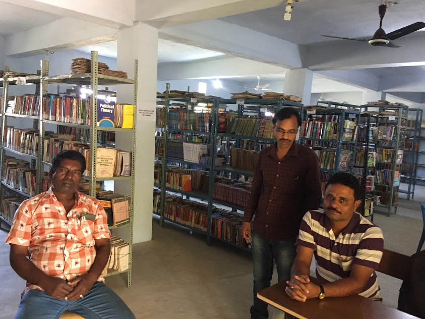 College Library and the staffs